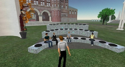 World University and School on Harvard's virtual island